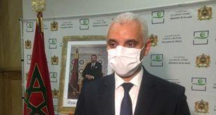 ministre de la santé,Khalid Ait Taleb,covid-19 maroc,vaccination maroc