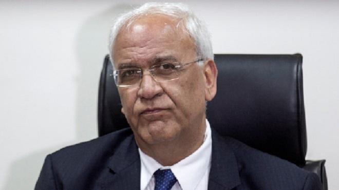 décès de Saëb Erekat présidence palestinienne