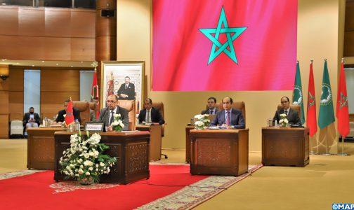 ouverture-du-13eme-sommet-extraordinaire-de-l'union-africaine-sur-la-zlecaf-avec-la-participation-du-maroc