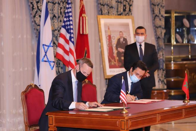 Adam Boehler signe un mémorandum d'entente avec le Maroc