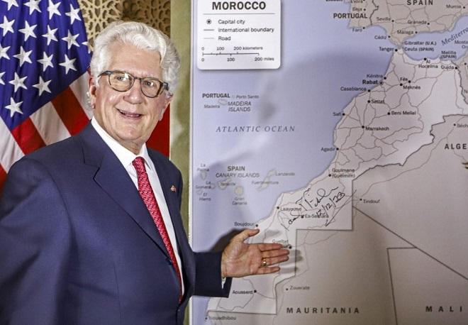 David Fischer présente la carte complète du Maroc