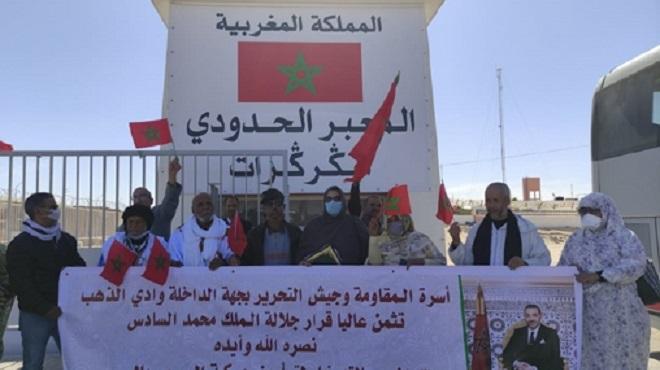 El Guerguarat La famille de la Résistance de Dakhla-Oued Eddahab