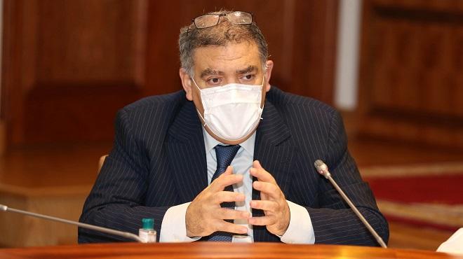 Elections 2021 Abdelouafi Laftit, ministre de l'Intérieur
