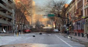 États Unis Une Violente Explosion à Nashville