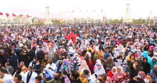 Grand rassemblement à Laâyoune
