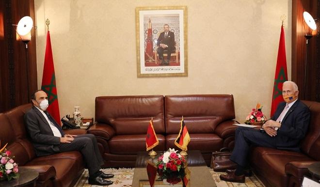Habib El Malki s'entretient avec Götz Schmidt-Bremme