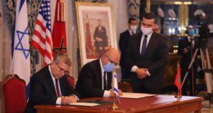 Joel Feldschuh signe un mémorandum d'entente avec le Maroc