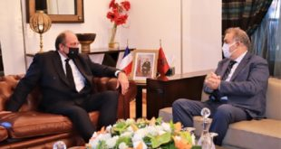 Laftit s'entretient avec le ministre français de la Justice