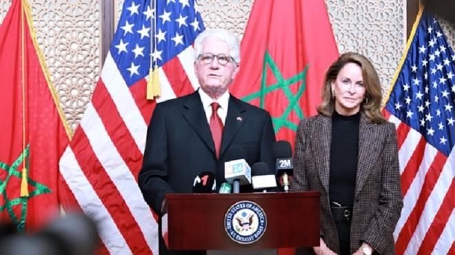 L'ambassadeur Us à Rabat Salue Le Leadership De Sm Le Roi