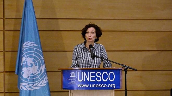 Arganier,UNESCO,Audrey Azoulay