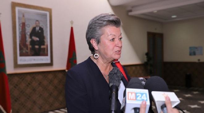 Le Maroc un partenaire très fiable Ylva Johansson UE
