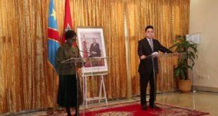 Le consulat général à Dakhla ministre congolaise des AE
