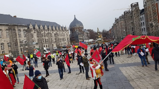 Les Marocains De Wallonie