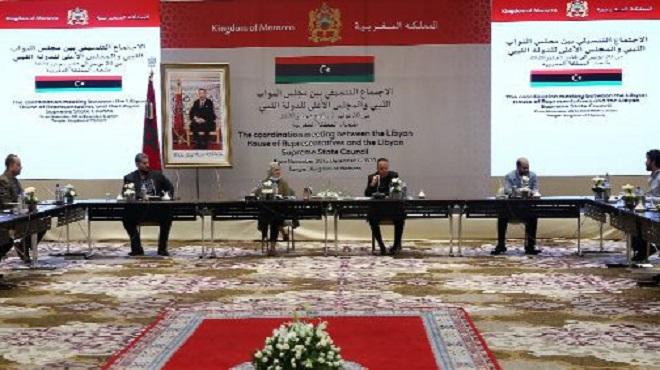 Libye Chambre des représentants et le Haut conseil d'État