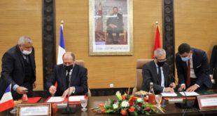 Maroc-France: Le ministre de la Justice Mohamed Ben Abdelkader et son homologue Eric Dupond-Moretti signent une déclaration d'intention