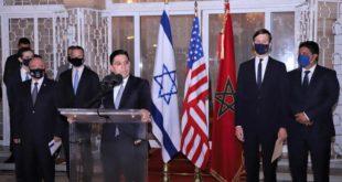 Nasser Bourita Tient Un Point De Presse
