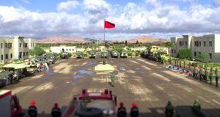 Oujda Forte Mobilisation Des Far Face Aux Vagues De Froid
