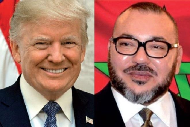 Président américain Donald Trump Etats-Unis reconnaissent souveraineté du Maroc sur le Sahara