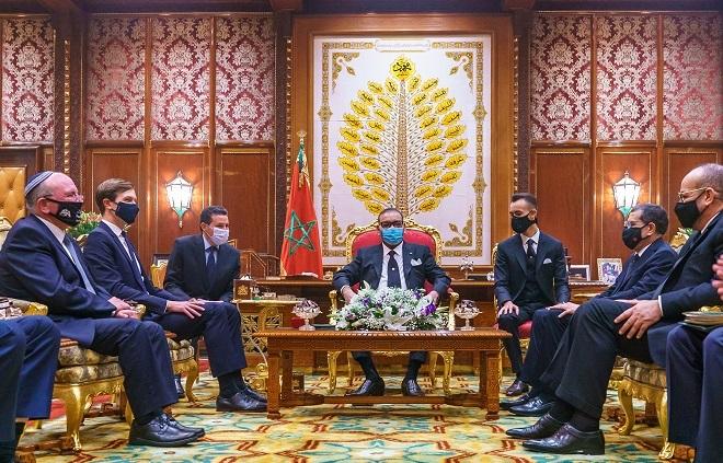 SM le Roi reçoit en audience une délégation américano-israélienne