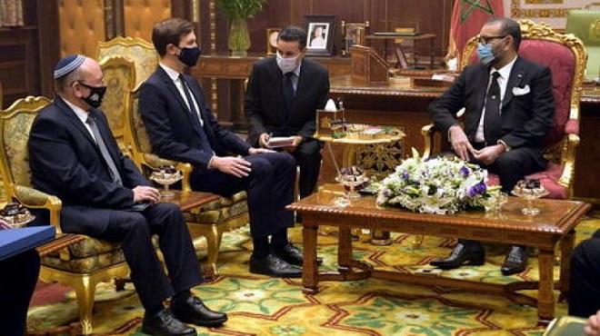 SM le Roi reçoit une délégation américano-israélienne