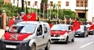 Sahara marocain Plusieurs citoyens célèbrent à Rabat