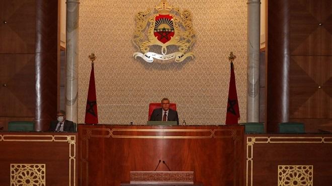 Séance des questions orales à la Chambres des conseillers