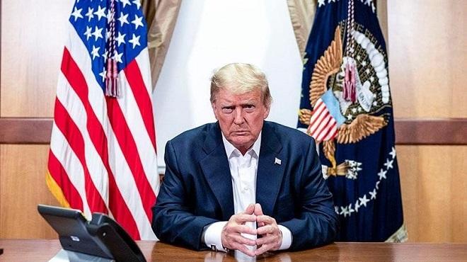 Trump sur le départ