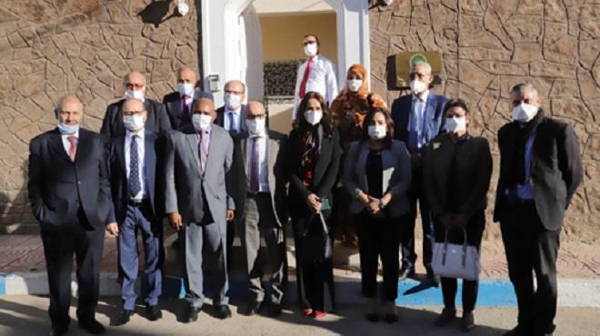 Une délégation de la Commission des AE à la Chambre des représentants en visite aux consulats accrédités à Laâyoune