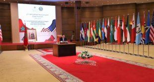 Conférence ministérielle virtuelle Maroco-Américaine-2
