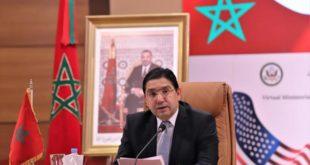 Conférence ministérielle virtuelle Maroco-Américaine-3