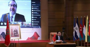 Conférence ministérielle virtuelle Maroco-Américaine-4