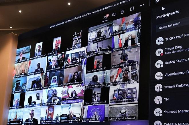Conférence ministérielle virtuelle Maroco-Américaine