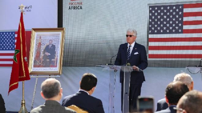 Dakhla Ouverture D'un Consulat Us David Fischer