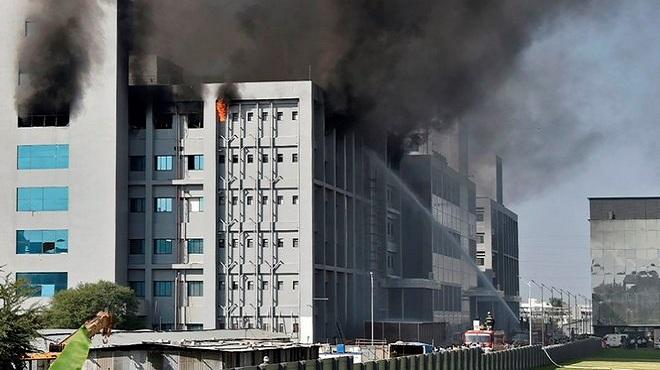 Inde Incendie Du Serum Institute Of India