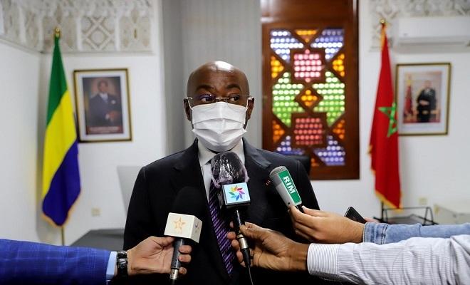 Le ministre gabonais des Affaires étrangères Pacôme Moubelet Boubeya