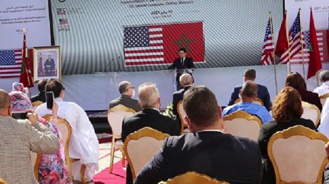 Maroc États Unis Dfc Dakhla