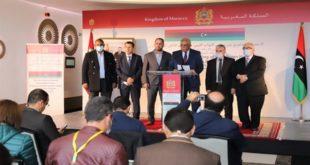 Rabat Les délégations du Haut Conseil d'Etat et de la Chambre des représentants libyens