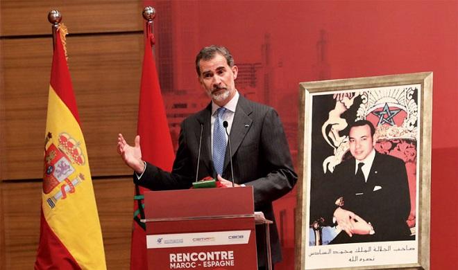 Sm Le Roi Felipe Vi Espagne Maroc