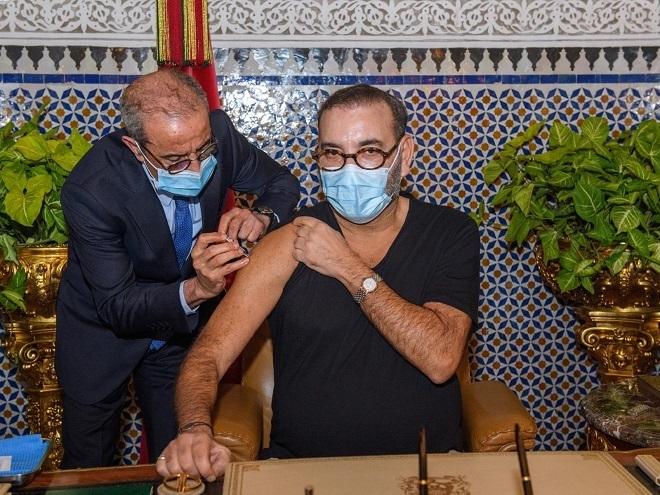 Sm Le Roi Lance La Campagne Nationale De Vaccination