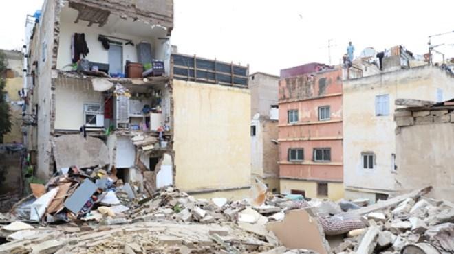 Effondrement Ruine Casa