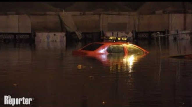 Inondations Casablanca