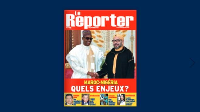 Couverture N° 1025 – 04 février 2021 Le Reporter.ma