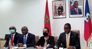 Dakhla délégation haitienne