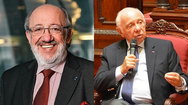 Louis Michel Ministre d'État et Jacques Brotchi Sénat Belge