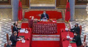 SM le Roi Mohammed VI a présidé un Conseil des ministres