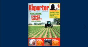 Couverture N° 1030 – 11 Mars 2021 Le Reporter.ma