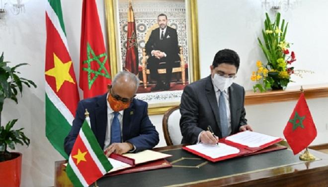 maroc suriname