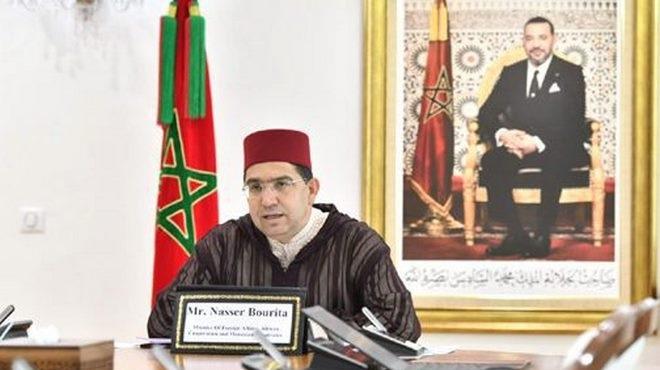 Coopération Internationale,Luigi Di Maio,Nasser Bourita