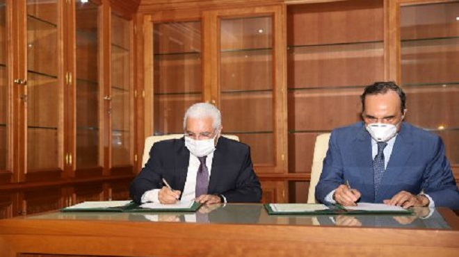 Chambre des représentants,Archives du Maroc,convention,partenariat,coopération,Habib El Malki,Jamaâ Baida