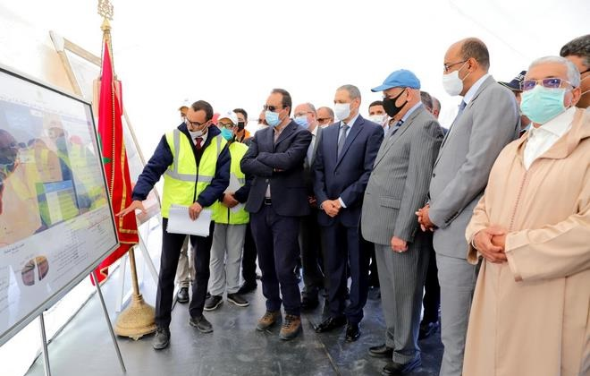 Abdelkader Amara,Laâyoune-Sakia El Hamra,hydrauliques,projets routiers
